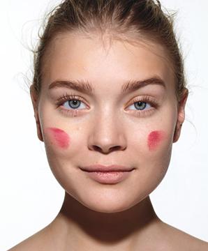 maquiagem perfeita - aplicar blush