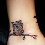Tatuagens inspiradoras no tornozelo