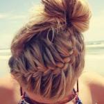 penteado coque