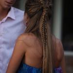 penteado de trança