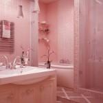 casas de banho cor de rosa