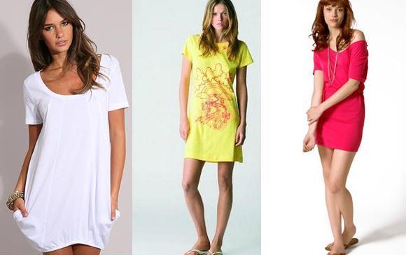 vestidos t-shirt