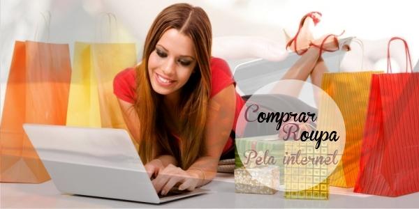 comprar roupa pela internet