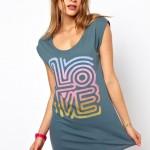 T-shirt vestido