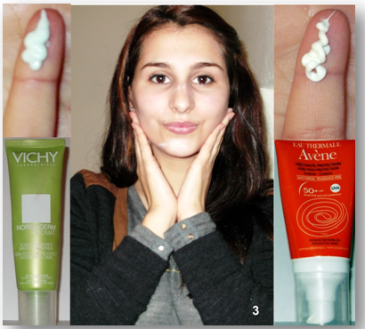preparação da pele