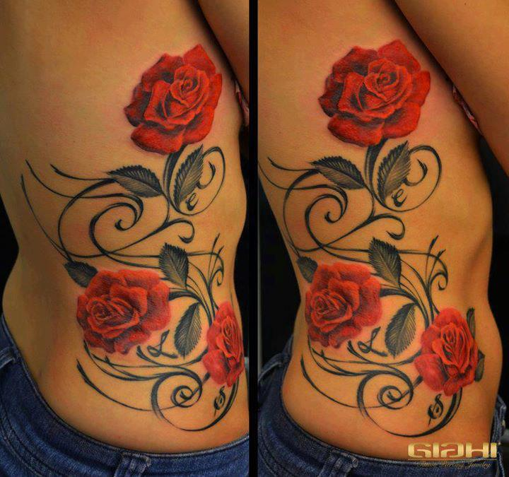 Populares Fotos de tatuagens femininas – Estar na Moda CK49