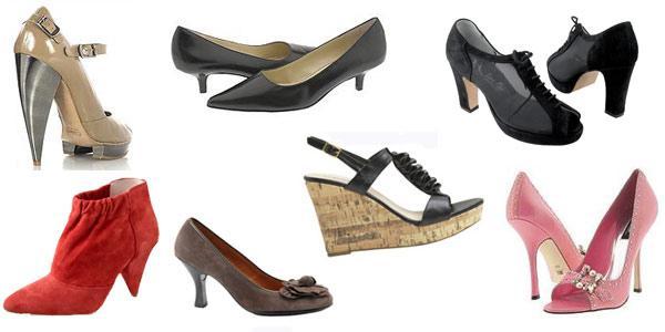 sapatos de mulher essenciais
