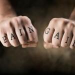 tatuagem letra simples