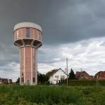 casa em torre de água