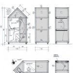 casa de 1 metro quadrado