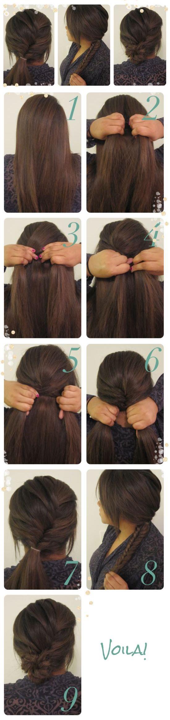cabelo cauda de sereia