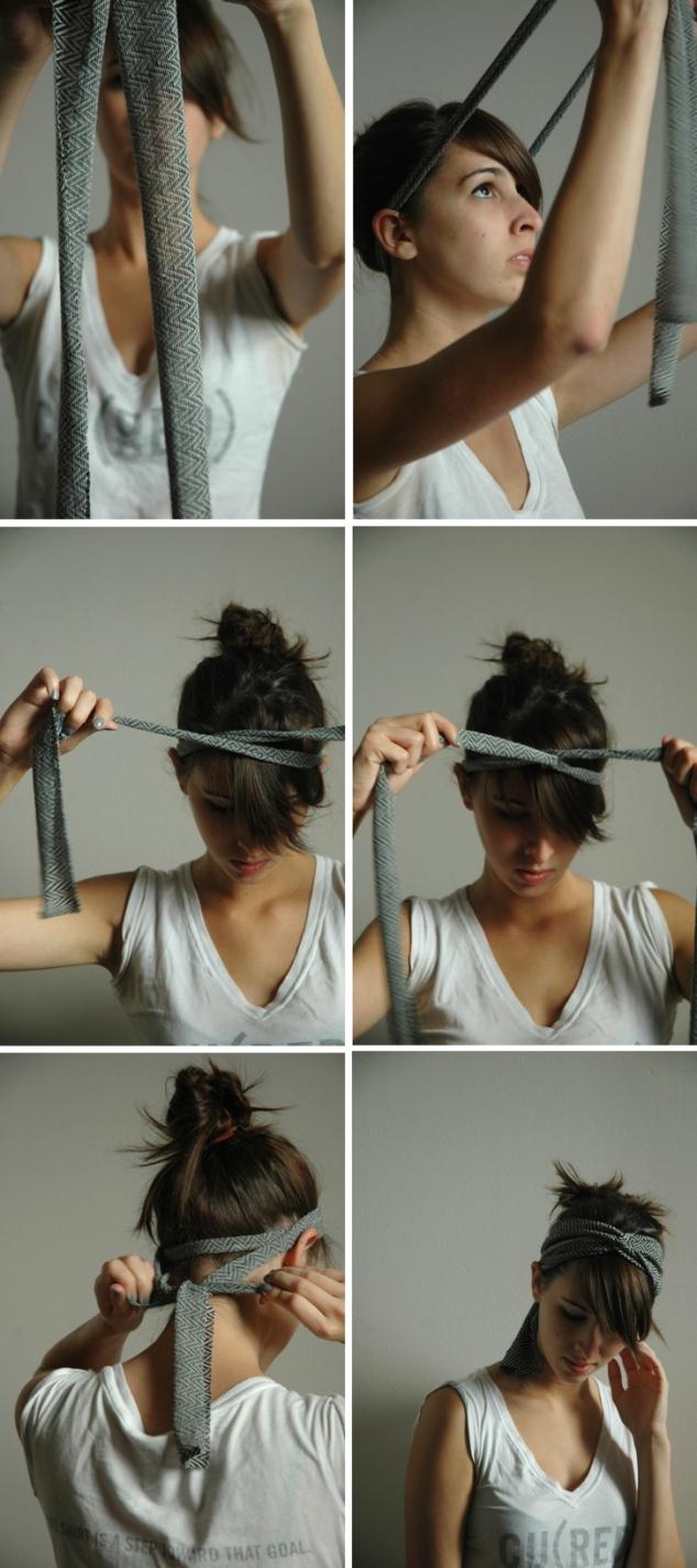 lenço na cabeça