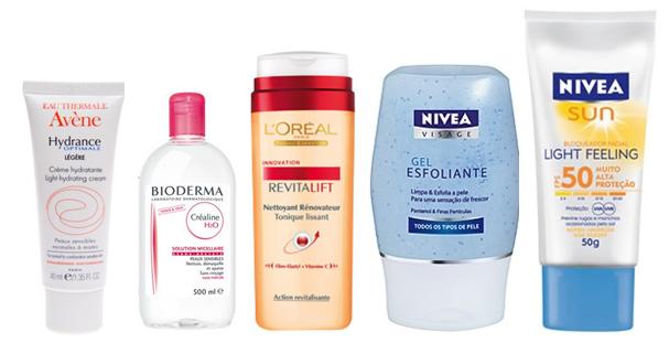 produtos peles normais