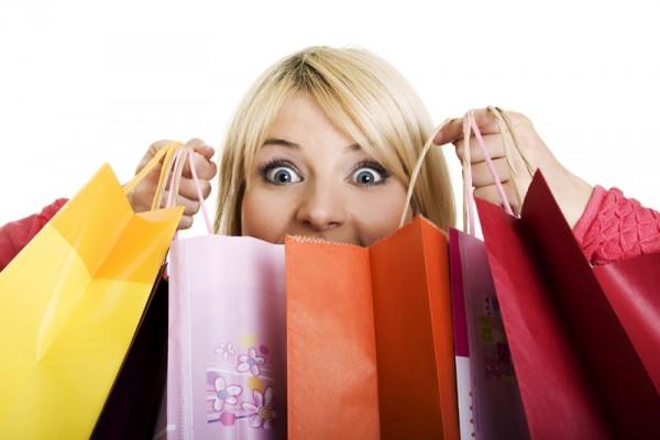 as mulheres gostam de fazer compras