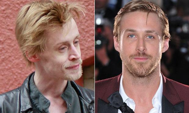 Macaulay Culkin e Ryan Gosling 33 anos
