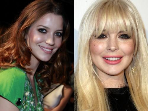 Nathalia Dill e Lindsay Lohan 26 anos