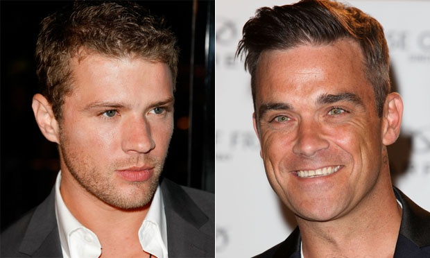 Ryan Phillippe e Robbie Williams 1974