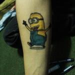 Tatuagens de Minions
